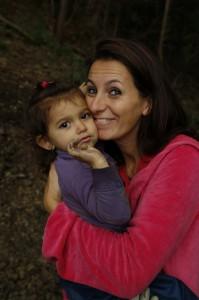 Hera e mamma al bosco