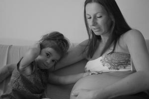 Mamma Luana e la piccola Hera nata in casa