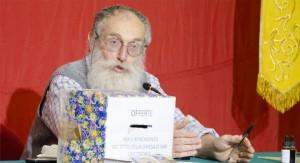 Il Dott. Mozzi in una delle sue conferenze