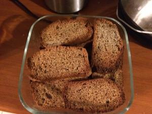 Fette biscottate con farina di grano saraceno e farina di mandorle - senza glutine